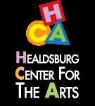 Healds Burg Center for the Arts stacked logo